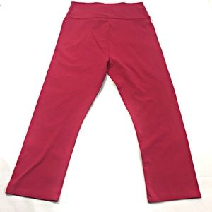 LOGO Lori Goldstien Women's Petite S Cropped Pants